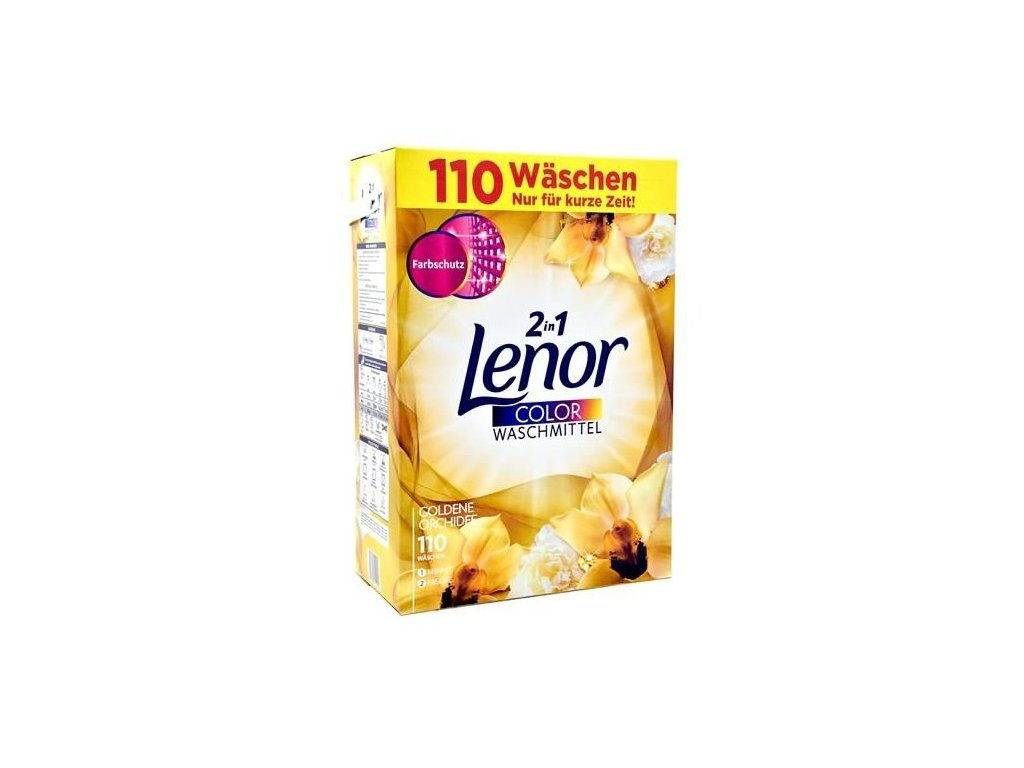 Lenor prací prášek Color Goldene Orchide 7,15 kg 110WL 8001841154244