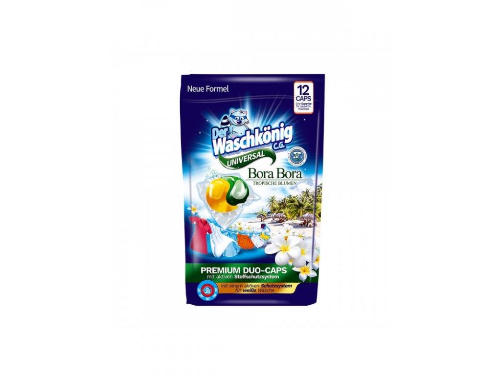 WaschKönig kapsle na praní DUO CAPS 12ks Bora Bora Universal 4260418932928
