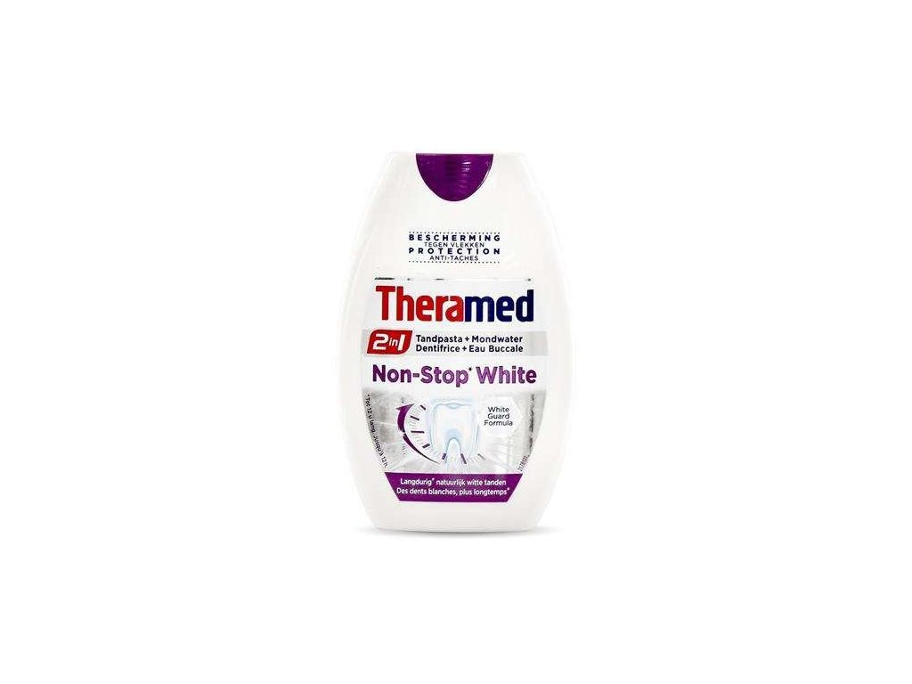Theramed zubní pasta gel 2w1 Non Stop White 75ml 5410091720773