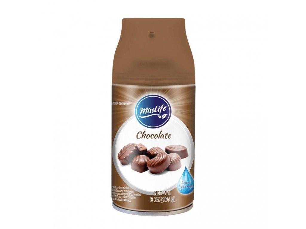 MissLife 250ml osvěžovač náhr.náplň Chocolate 8694587575147