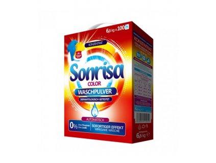 Sonrisa prací prášek Color 6,5kg 100WL 4260634110049