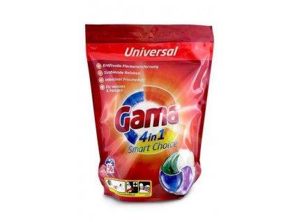 Gama (Vizir) 4in1 kapsle na praní 56ks Universal 8435495825241
