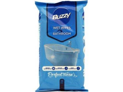 7647 buzzy vlhcene ubrousky bathroom 48ks koupelna