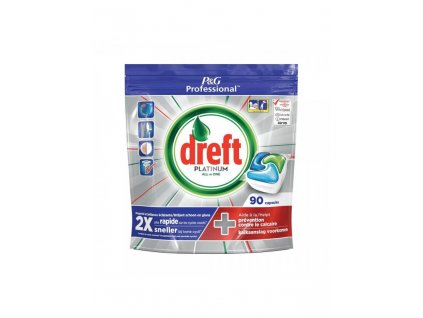 Dreft Platinum 90ks kapsle do myčky 8001841629667