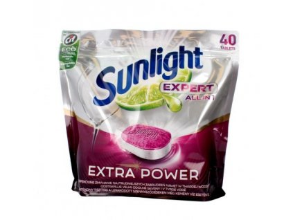 Sunlight Expert All in 1 40ks tablety do myčky 8710847888915