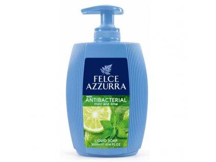 Felce Azzurra Mint&Lime 300 ml antibakteriální mýdlo 8001280024269