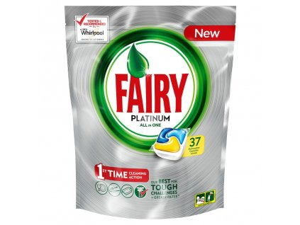 Fairy Platinum Lemon 37ks kapsle do myčky 8001090033130