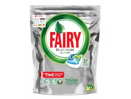 Fairy Platinum Regular 37ks kapsle do myčky 8001090029867