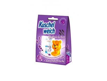 Kuschelweich vonné sáčky Lavendel 3ks fialové 4013162016914