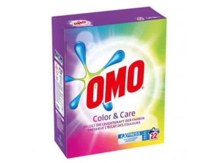 OMO prací prášek Color&Care 1,43kg 22WL 8710447310021