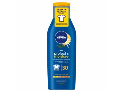 8220 nivea sun 30 protect and moisture mleko 200ml