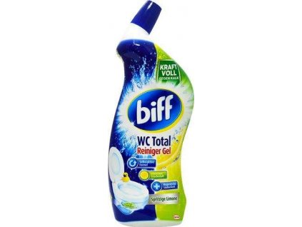 Biff 750ml WC Total gel do WC Spritzige Limone 4015000968218