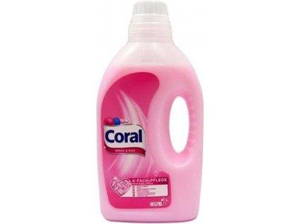 Coral prací Gel Wool & Silk 1,375l 25WL 8710908505577