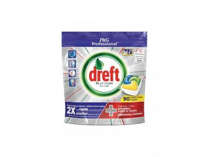 Dreft Platinum 90ks Lemon kapsle do myčky 8001841629636