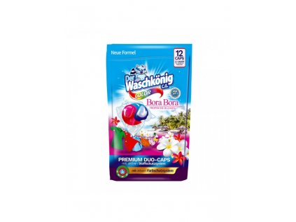 WaschKönig kapsle na praní DUO CAPS 12ks Bora Bora Color 4260418932911