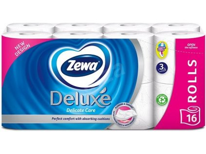 TP Zewa 16ks 3 vr. Delicate Care Aquatube 7322540313321