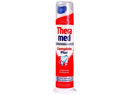 Theramed zub.pasta s pumpičkou 100 ml Complete Plus červená 4015100186161