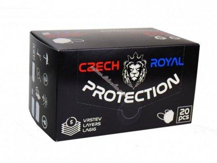 respirátor czech royal protection respirator ffp2 1