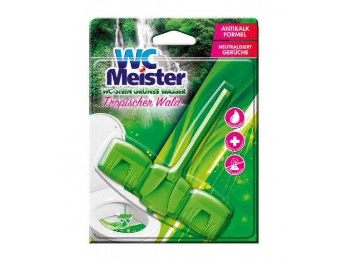WC Meister závěska do WC 45g barvící Tropischer Wald 4260418932362