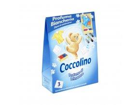Coccolino vonné sáčky Profumo di Primavera 3ks modré 8000660310282