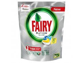 Fairy Platinum Lemon 37ks kapsle do myčky 8001090033130