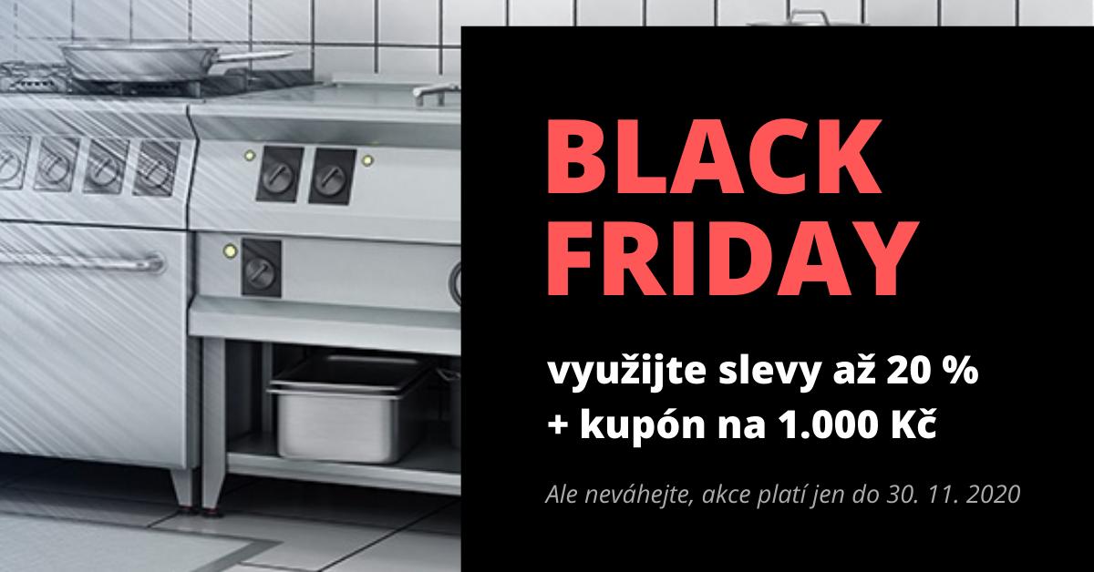 Black Friday - ušetřete na více jak 290 produktech gastro vybavení