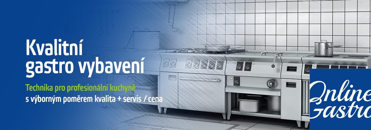 Gastro vybavení kvalitně a levně