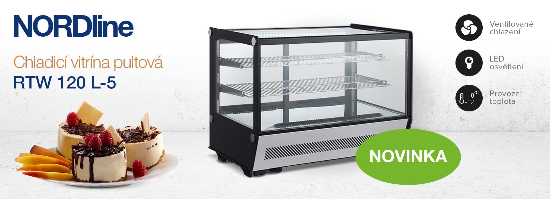 Nordline RTW stolní vitríny