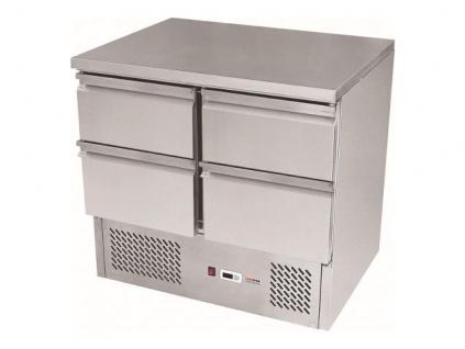 Chladící stůl čtyřzásuvkový SZ-902