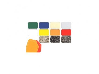 Podnos trapézový barevný protiskluz