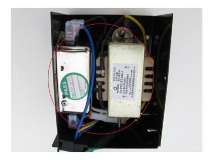 K14 - Vnitřní elektronika napájecí jednotky - zdroje