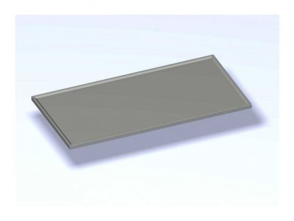 Nerezová výčepní deska  1200x600