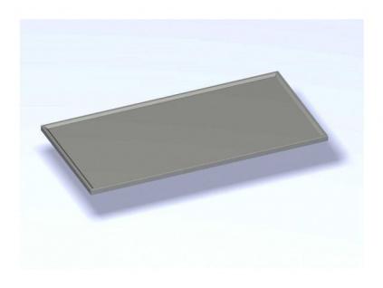 Nerezová výčepní deska  2800x800