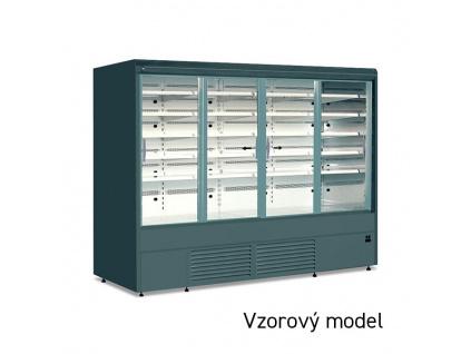 JUKA Varna 110/60 DP mini posuvné prosklené dveře, bez agregátu