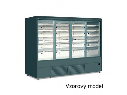 JUKA Varna 160/60 DP mini posuvné prosklené dveře, bez agregátu