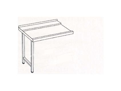 Stůl výstupní 160x75x85 pravý