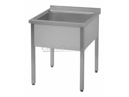 Stůl mycí 100x80, nádoba 70x60x45 cm