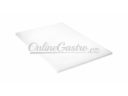 PE deska bílá 600x400x30 mm