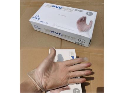 Jednorázové rukavice - vel. L -  balení 100 ks