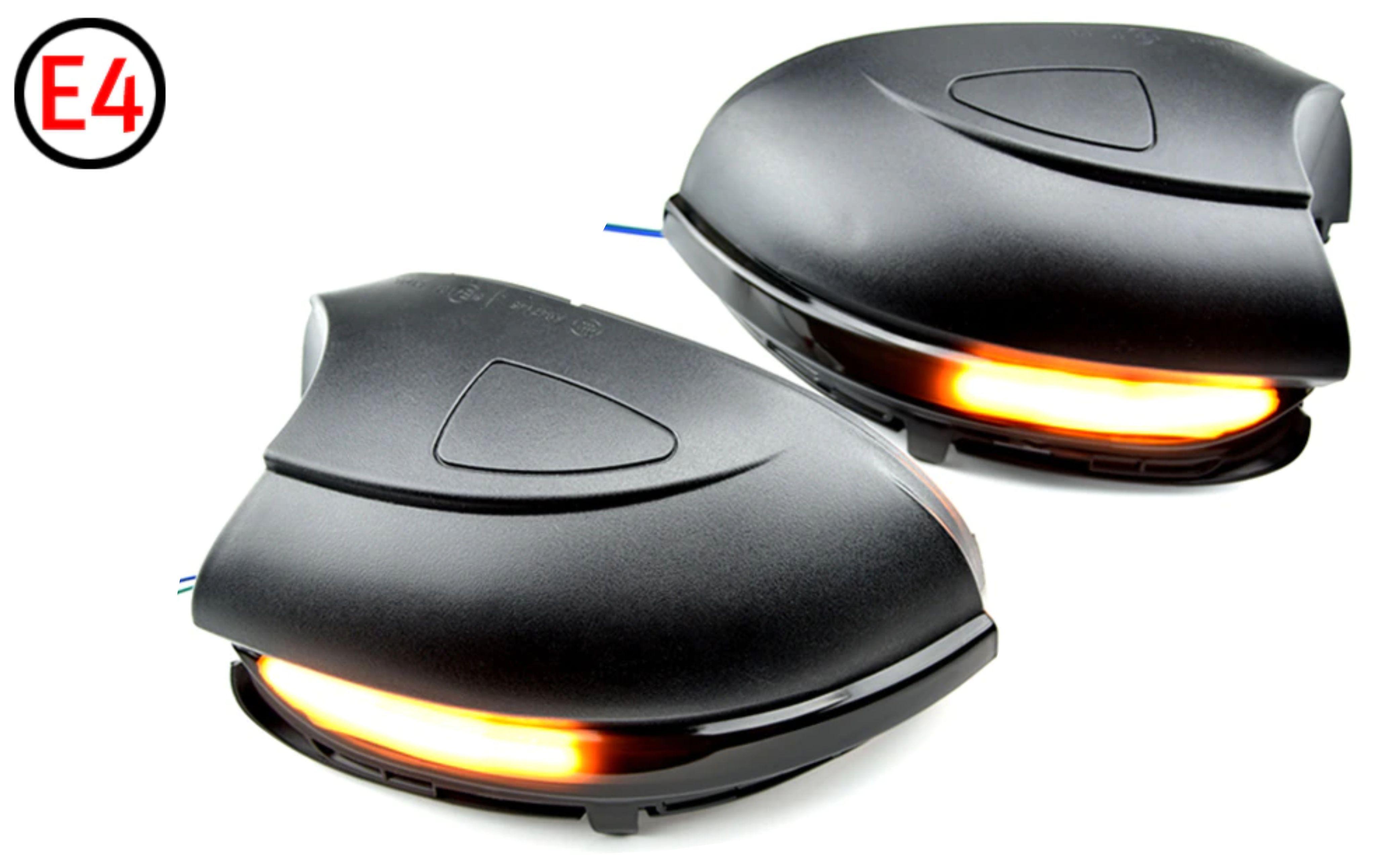 CarLights Dynamické LED blinkry do zrcátek VW GOLF MK6, TOURAN VARIANTA OSVĚTLENÍ NÁSTUPU: S OSVĚTLE