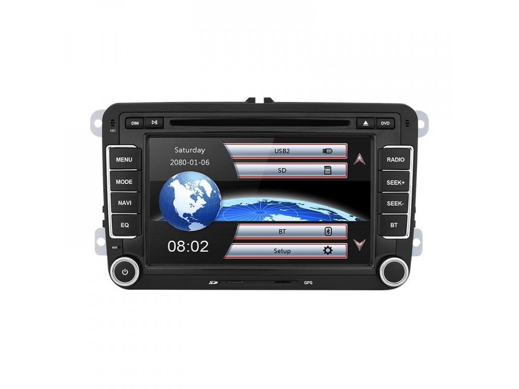 Isudar Car Multimedia player 2 Din Car DVD For VW Volkswagen Golf Polo Tiguan Passat b7 2