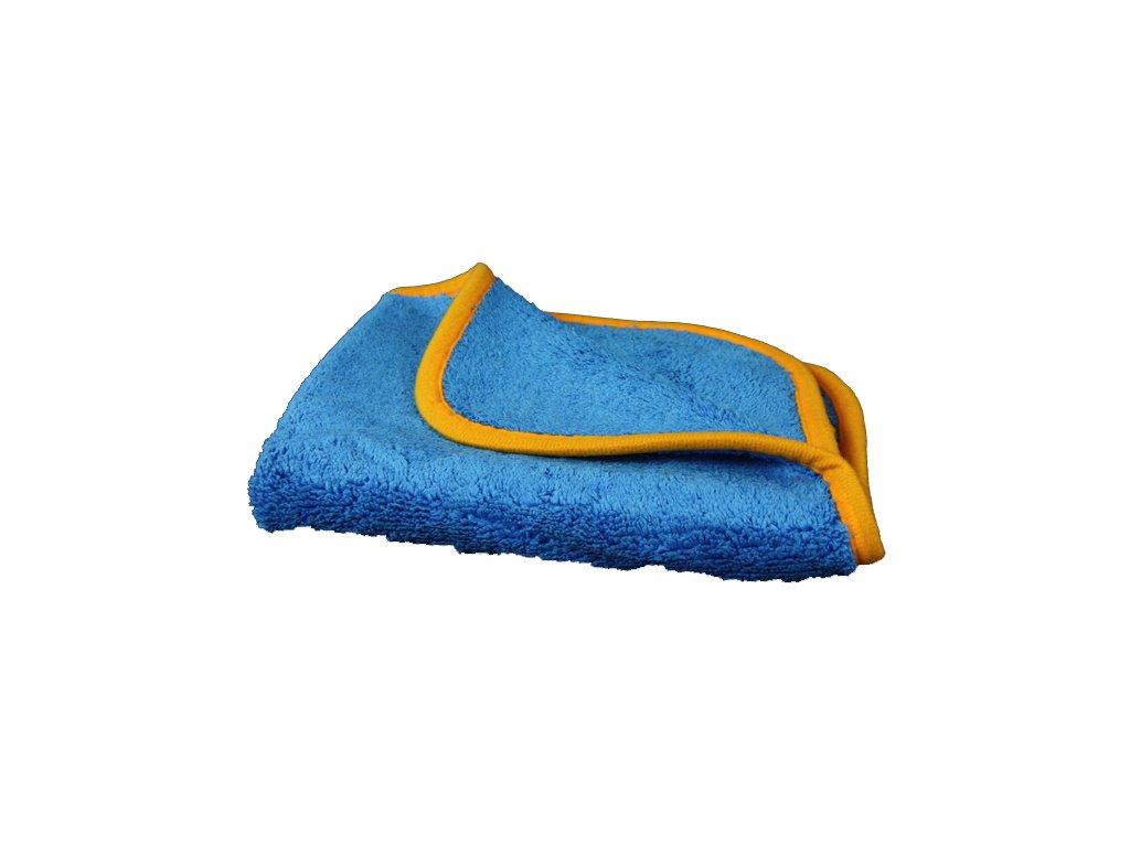 4274 lare blue orange towel bot600 mikrovlaknova uterka 40x40 cm