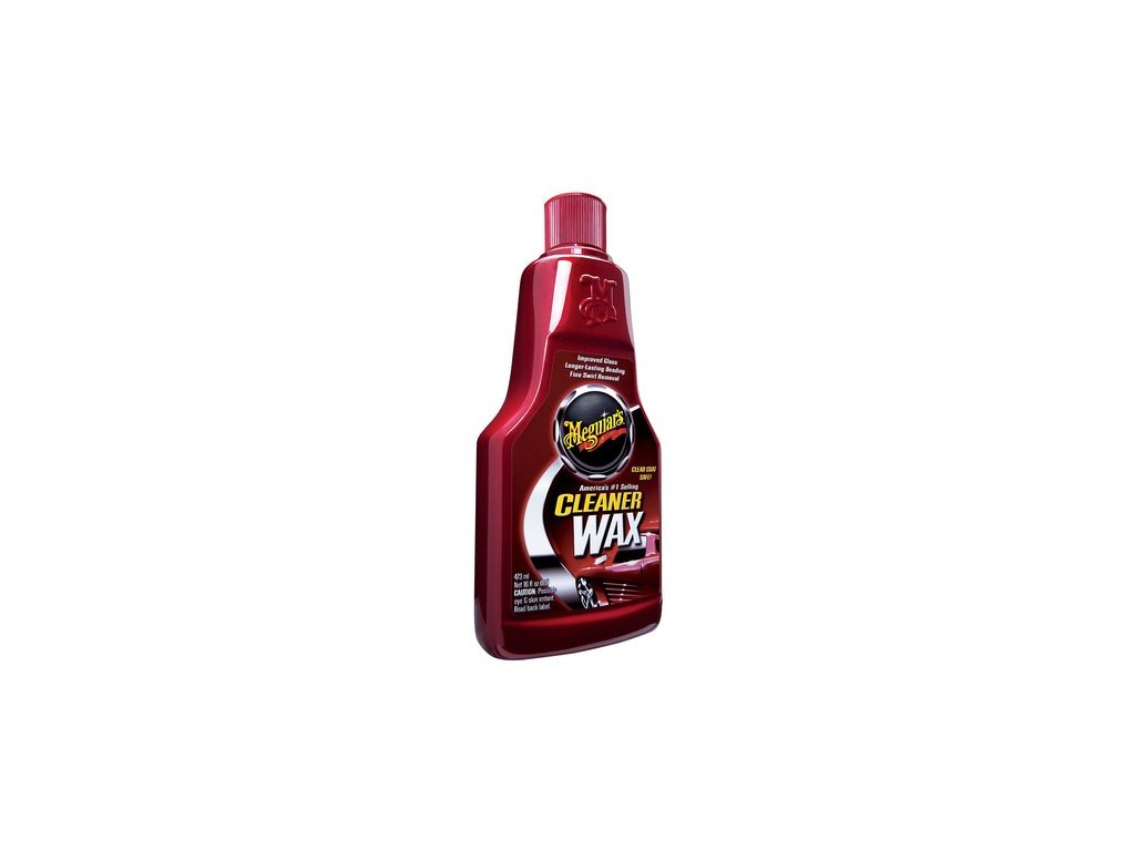 Meguiars Cleaner Wax Liquid - lehce abrazivní leštěnka s voskem, 473 ml