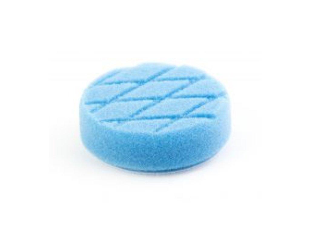 LARE Foam Pad DIAMOND Medium Cut Blue 82 mm Velcro 75 mm