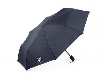 BMW Skládací deštník - tmavě modrý 80232466303