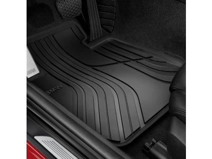 BMW Podlahové koberečky pro každé počasí - zadní - Basis - řada 1 (F21 3 dveř.), 2 Coupe (F22), M2 Coupe (F87) 51472297420