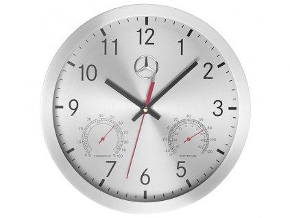 Mercedes-Benz Nástěnné hodiny stříbrné B67870476