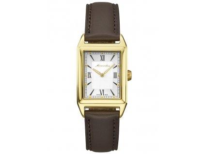 Mercedes-Benz Dámské náramkové hodinky Classic zlaté B66043048