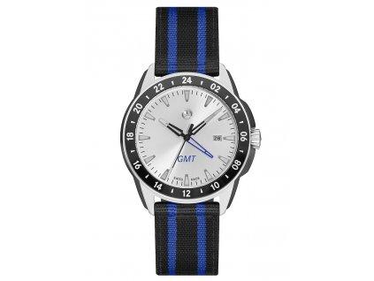 Mercedes-Benz Sportovní hodinky Young Sportive GMT černo-stříbrné B66953057