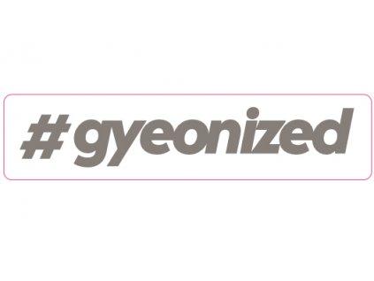 gyeon sticker silver